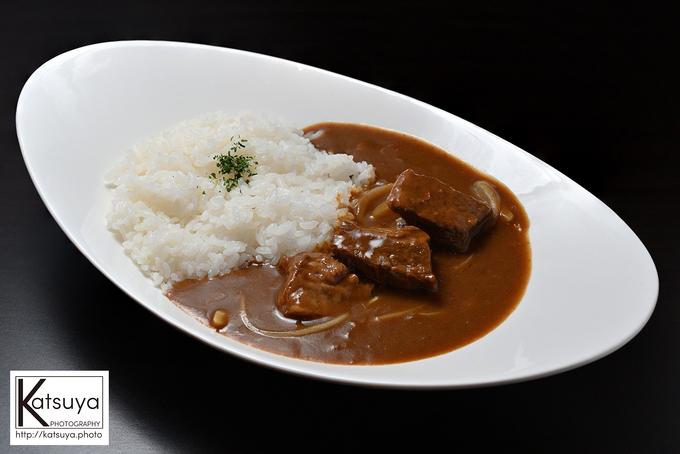 筏橋店でしか食べられない、キッチン飛騨伝統の飛騨牛カレー