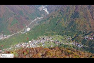 山岳空撮ドローン使用 高山市「福地山」