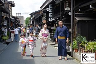 2019年観光ロケ(飛騨高山古い街並み)