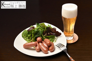 【うま辛ソーセージ】商品パッケージ用イメージ写真(株式会社飛騨ハム)