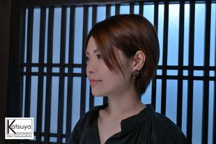 【女性ポートレート撮影】Manami@飛騨牛ハンバーグ専門店Roman亭
