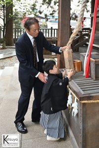 七五三神事撮影 出張撮影専門プロカメラマン阪上勝哉